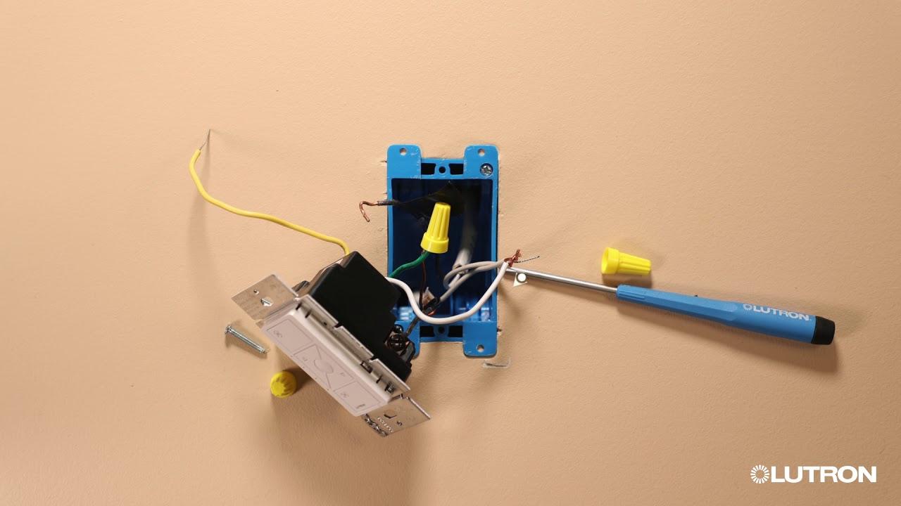 hight resolution of cas ta smart fan speed control install video lutron electronics