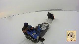 Snowmobile uchun uy qurilishi PLASTIK sled #3 (emas, balki tugatish)