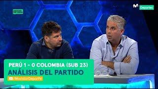 Después de Todo: Perú 1-0 Colombia | ANÁLISIS del partido sub 23