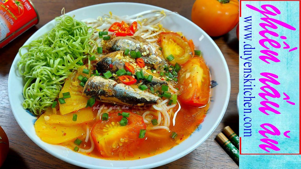Nấu Bún Cá Hộp Siêu Tốc Cho Ngày Bận Rộn By Duyen's Kitchen | Ghiền nấu ăn