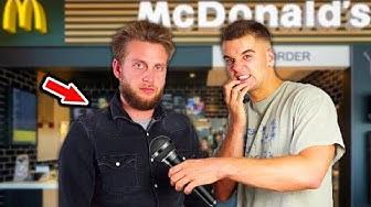 Interview mit einem McDonalds Mitarbeiter | Wie viel verdient man?