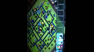 Tek atack blue (COC) clans of clans by atek yugo