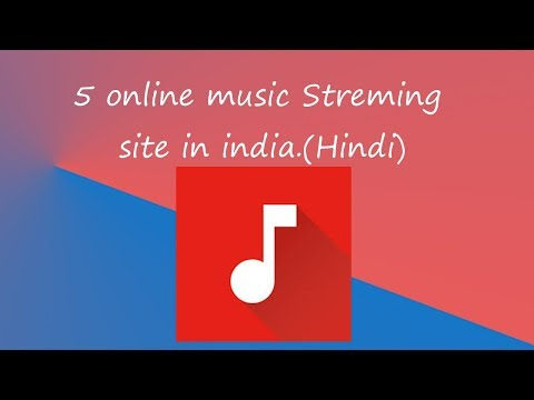 5 online Music Streming site in india.