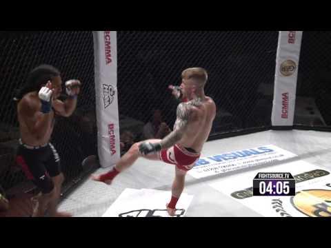 #BCMMA16 Saturday 23rd July 2016 – Owen Gayle Vs Jamie Powell – 125lbs Pro MMA Title Bout