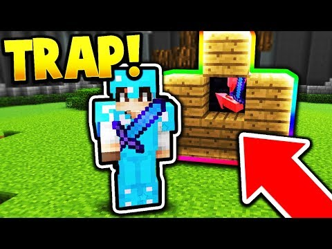 OBSIDIAN TRAP! (Minecraft Hypixel UHC Duels PvP)