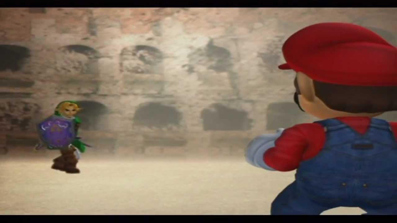 Super Smash Bros Melee Intro Video HD YouTube