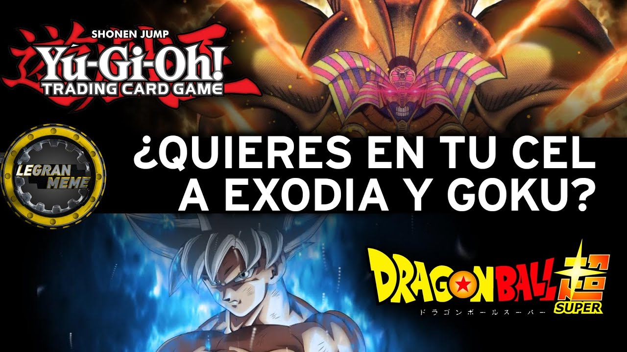 Exodia Wallpaper Goku 2k Avisos Youtube