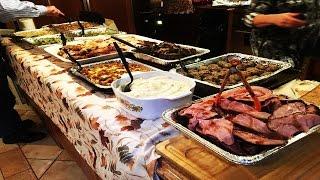 THE BIGGEST THANKSGIVING DINNER EVER!