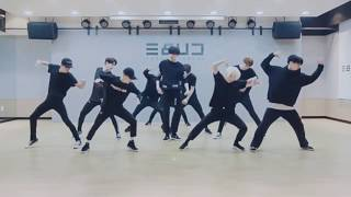 Pentagon 'Like This' mirrored Dance Practice