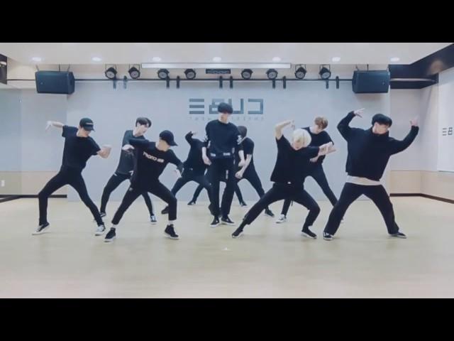 Pentagon 'Like This' mirrored Dance Practice