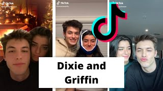 Dixie Damelio and Griffin Johnson