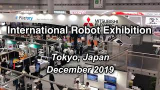 Different Industrial Robots at the International Robotic Exhibition (iREX 2019)