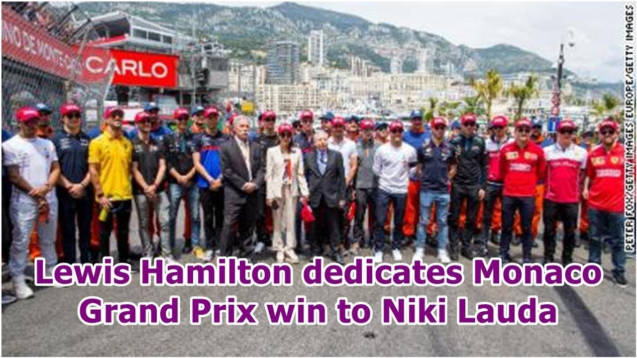 Hamilton wins Monaco Grand Prix in the spirit of Lauda