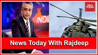 Is Modi Govt Trying To Drag Sonia Gandhi Into Agusta Net ? | News Today With Rajdeep