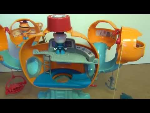 Toy Review: Octonaut Octopods Playset