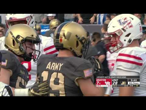 Highlights: Army Football Vs. Houston (Armed Forces Bowl) 12-22-18