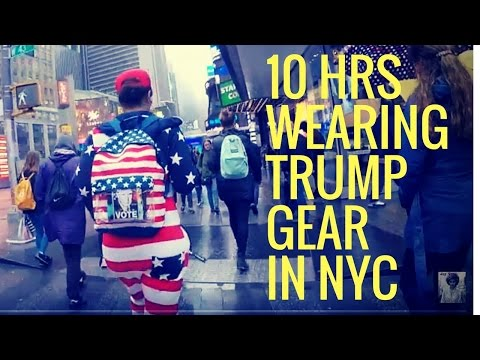 10 Hours Walking In NYC as a Women Trump Supporter