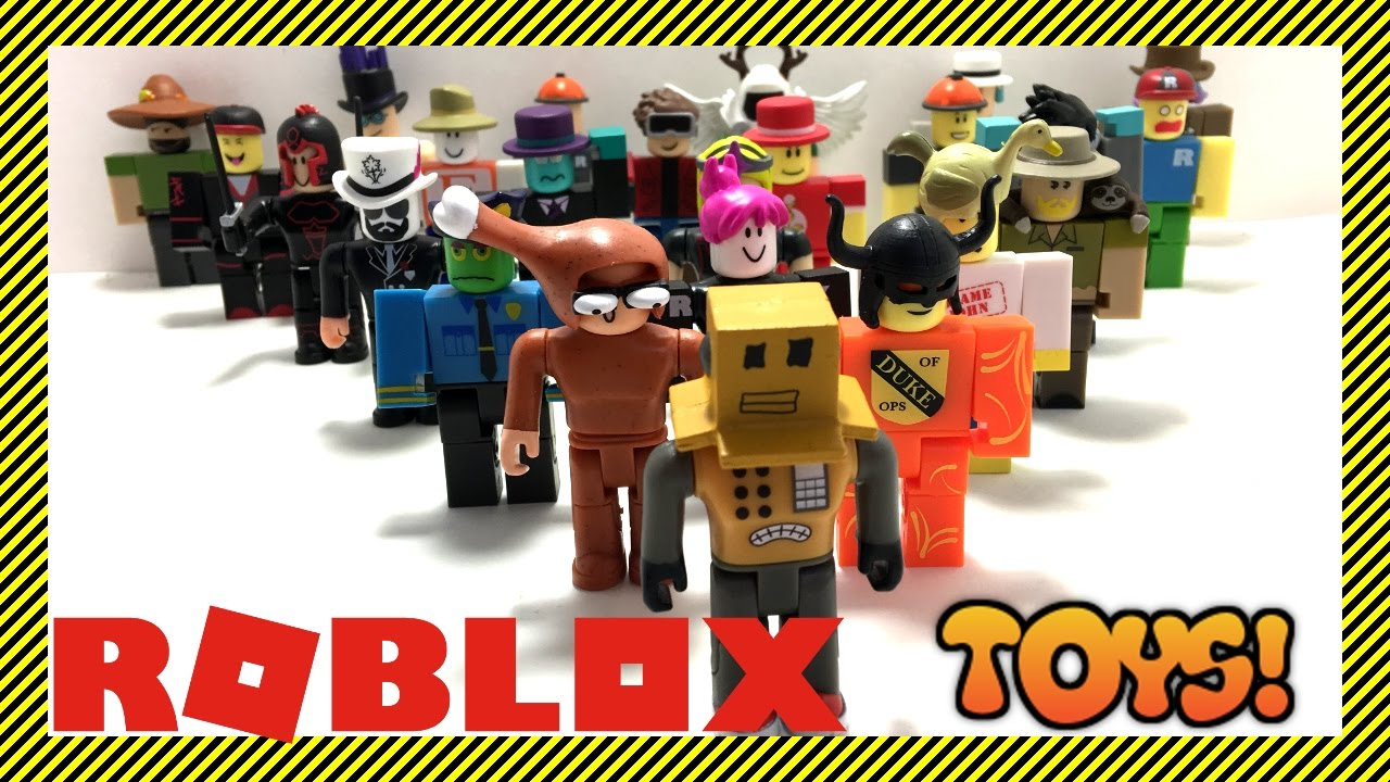 😀 ROBLOX TOYS - All Blind Box Toys - A Quick Look at All Series 1 Mystery  Boxes | #RobloxToys
