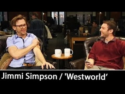 Download Youtube: Jimmi Simpson talks 'Westworld', TV Series with Anthony Hopkins & Ed Harris   Interview Oc