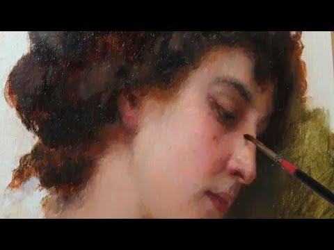 How to paint like William-Adolphe Bouguereau? Tutorial for beginners.