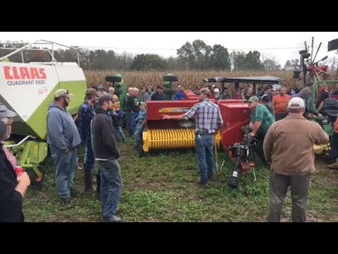 2016 New Holland BC5070 Square Baler Sold on Pennsylvania Farm Auction Yesterday