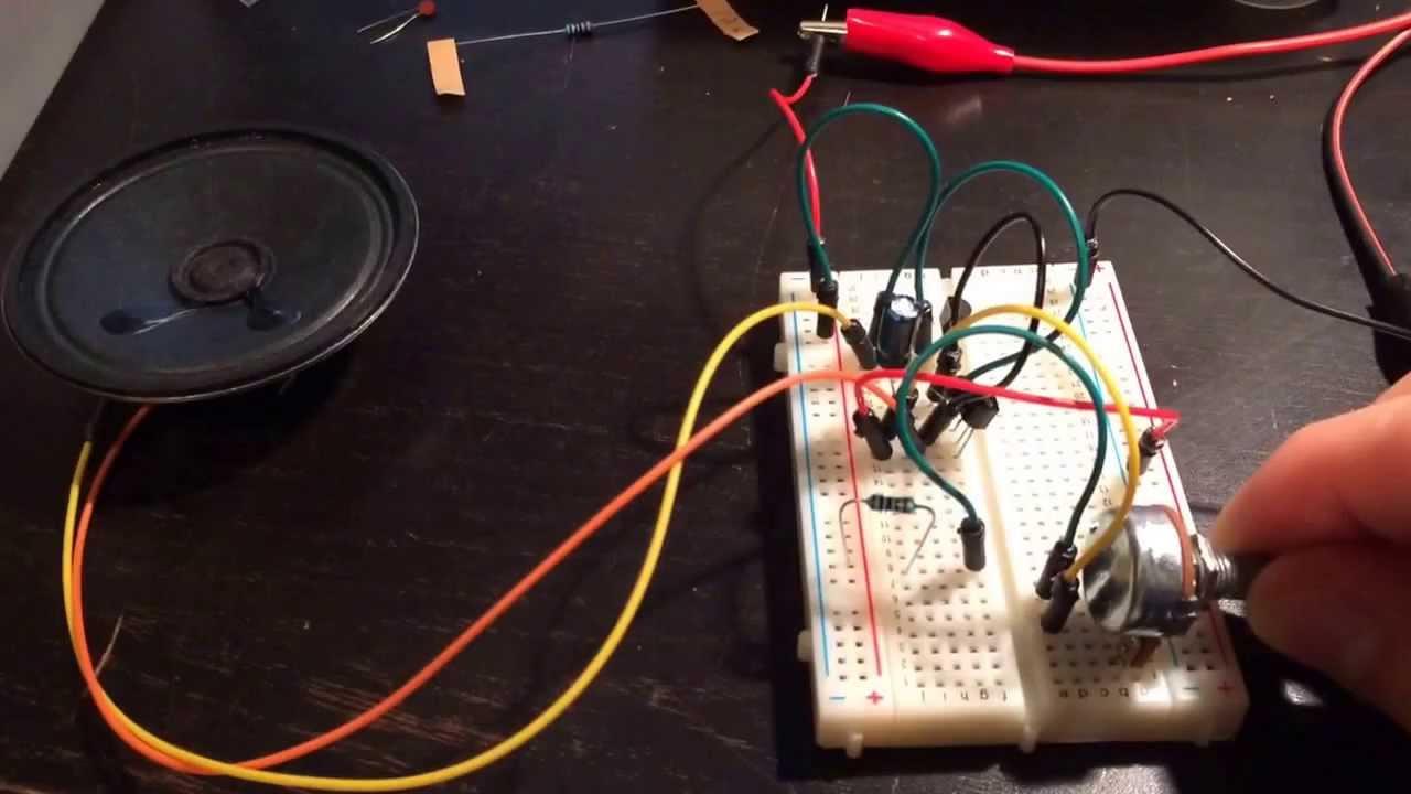 Simple Metronome Circuit Youtube