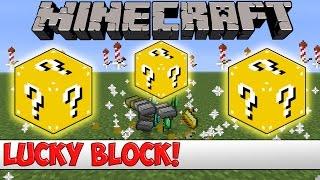Minecraft Plugin Tutorial - Lucky Block