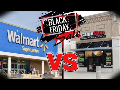 Walmart VS Gamestop BLACK FRIDAY GAMING DEALS!!!! Who's Got The Better Deals?