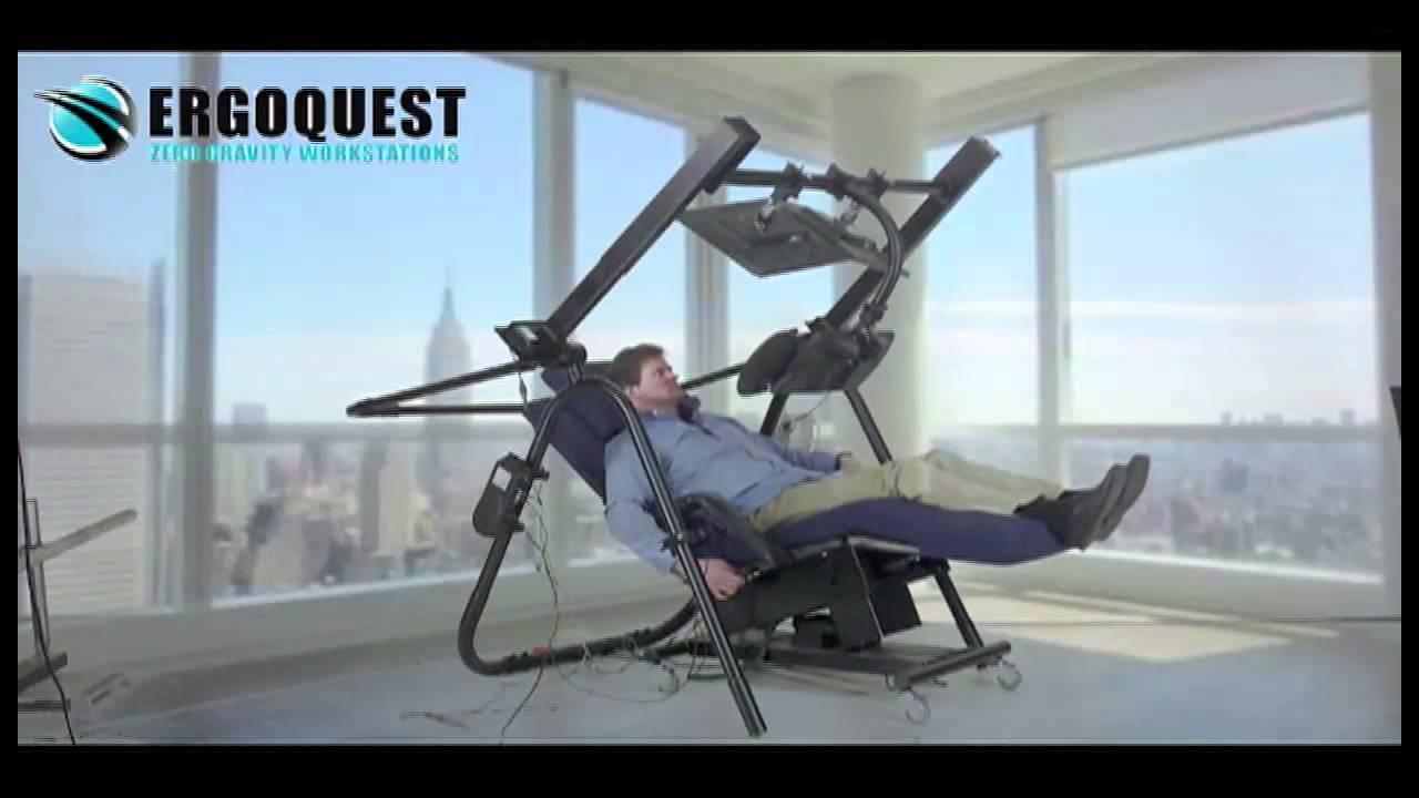 Zero Gravity Desk 9 by ErgoQuest  YouTube