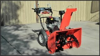 How To Adjust Skid Shoes on a Snowblower