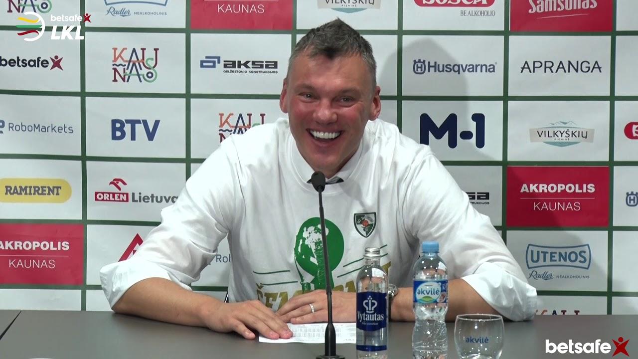 """""""Betsafe–LKL"""" finalo serijos rungtynių komentarai: """"Žalgiris"""" - """"Rytas"""" [2019-06-01]"""