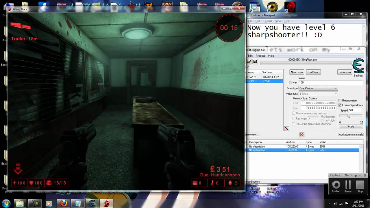 Killing Floor V1017 Perk Editing