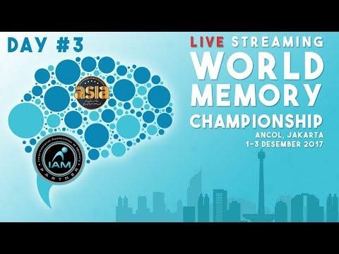 Closing Ceremony - World Memory Championship 2017