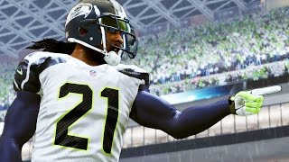 madden 16 career mode gameplay 100 yard punt return unfinished business ep 2