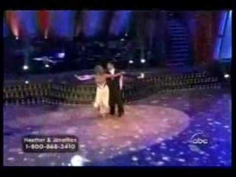 Heather Mills dances with Paul McCartney