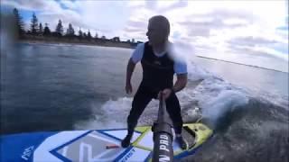Aqua Marina 2018 Beast ISUP small surf review.