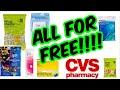 CVS DEALS - ALL FOR FREE!!!