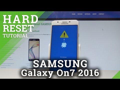 Hard Reset SAMSUNG G600FY Galaxy On7 Pro - HardReset info