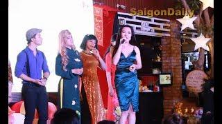 Lô tô show: Ngọc nữ Tâm Thảo xuất hiện như diva ở Hương Nam tại Kasa