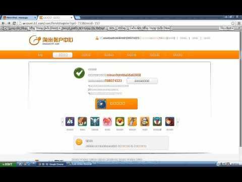 Cách đăng kí và chơi game Moly Trung Quốc