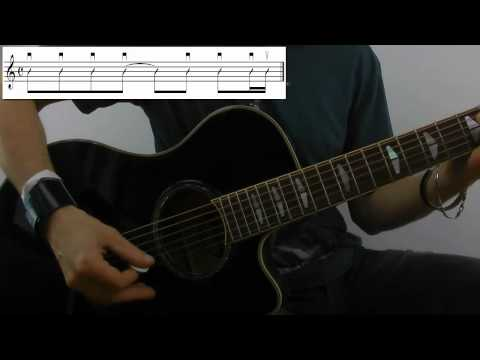 Slow it down - Amy Macdonald- Guitarlesson Tutorial Gitarre lernen online