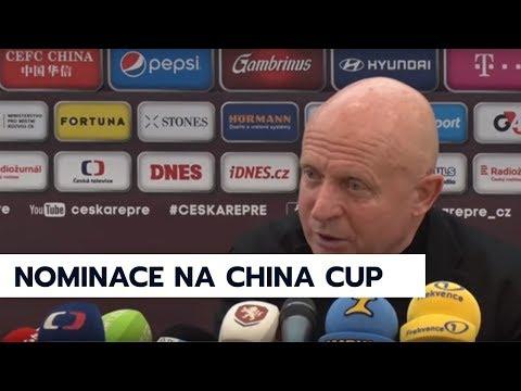 Trenér Jarolím nepovolal na China Cup žádného nováčka