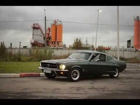 реставрация ford mustang-видео