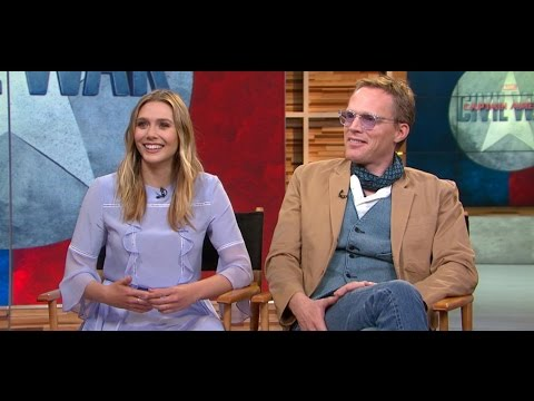 'Captain America: Civil War': Elizabeth Olsen, Paul Bettany Visit 'GMA'