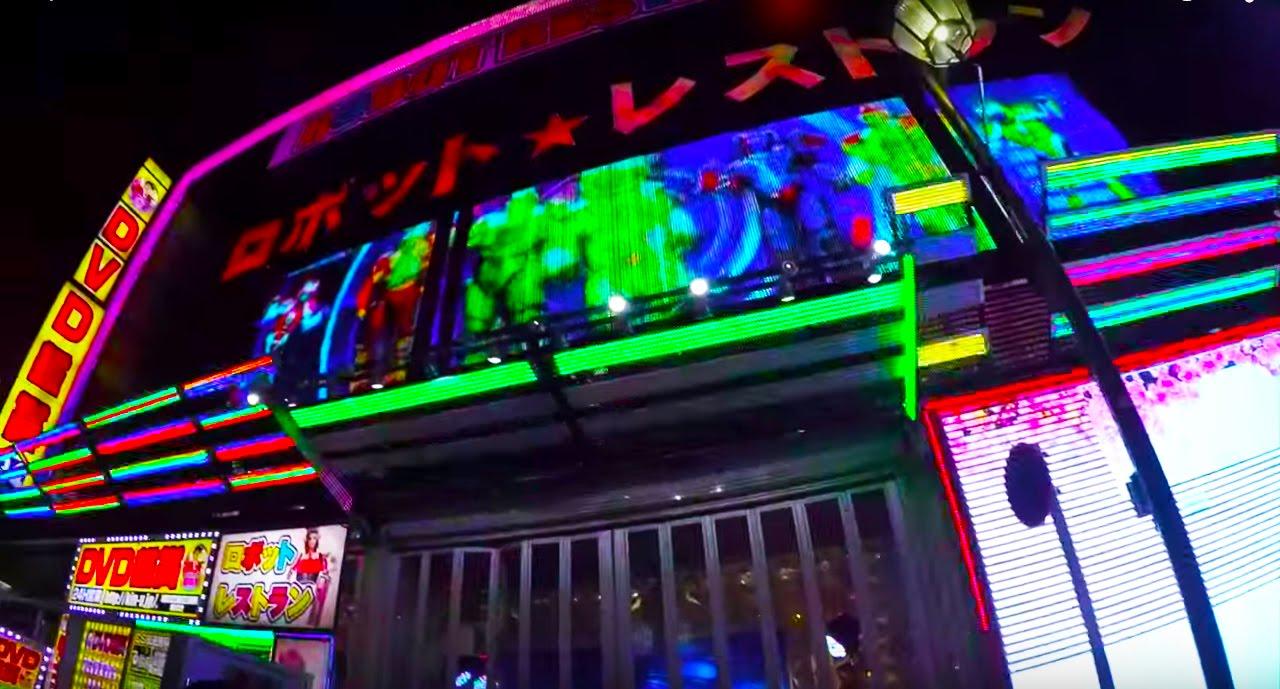 TOKYO NIGHTLIFE (An epileptic person's worst nightmare)