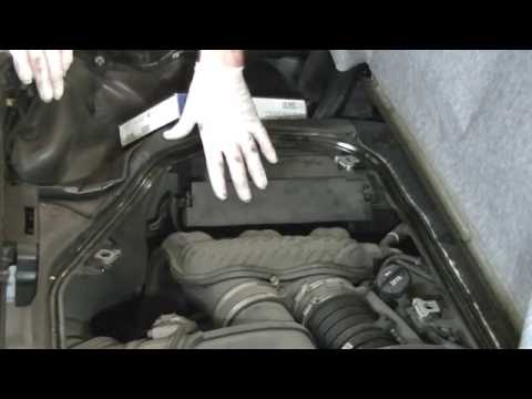 How to Replace The Engine Air Filter On Porsche Boxster