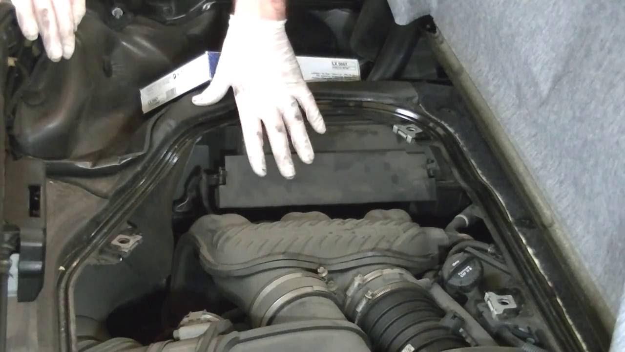 Porsche boxster air filter