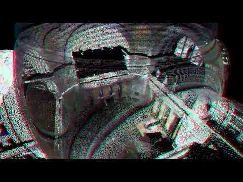 Low Library in 3D Anaglyph