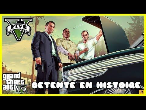GTA V | Détente En Histoire [Live] [PS4 FR]