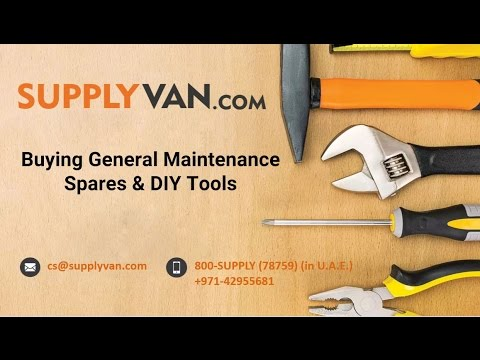 Buy Industrial Power Tools & Hardware Online @ SupplyVan.com